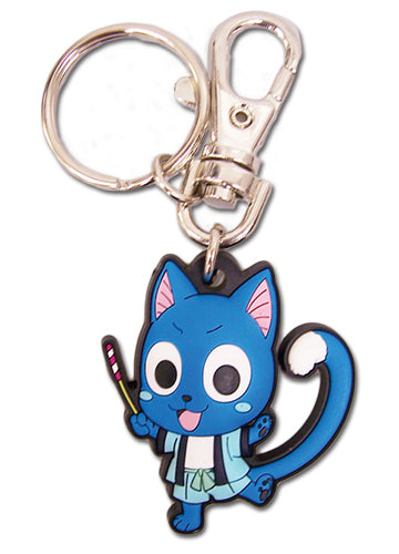 Fairy Tail Happy In Yukata Outfit Key Chain