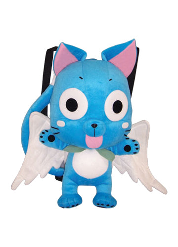 Fairy Tail Happy Plush Backpack