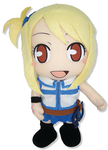 "Fairy Tail Lucy Heartfilia 8"" Plush Doll from the anime and manga series Fairy Tail."