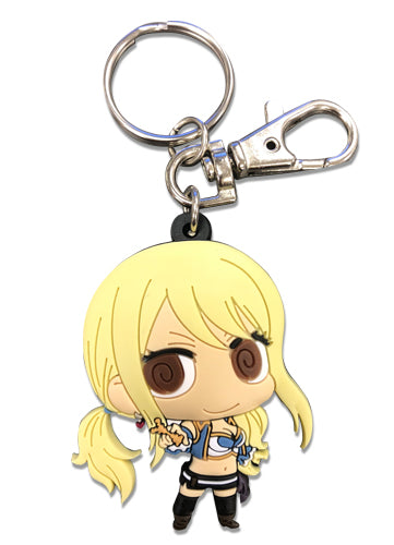 Fairy Tail Lucy SD PVC Key Chain