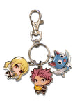 Fairy Tail Natsu, Happy and Lucy S7 Metal Keychain