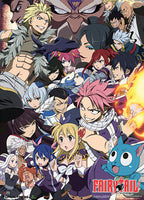 Fairy Tail Season 6 Key Art Wall Scroll Shadow Anime