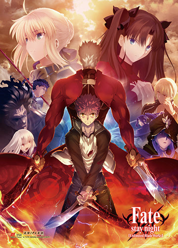 Fate/Stay Night Key Art 5 Wall Scroll