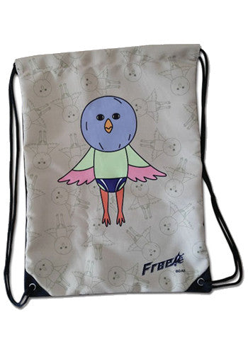 Free! Iwatobi Chan Bird Drawstring Bag