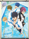 Free! Iwatobi Swim Club Key Art Group Wall Scroll Sample