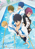 Free! Iwatobi Swim Club Key Art Group Wall Scroll