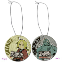 Fullmetal Alchemist Brotherhood Ed & Al Air Freshener
