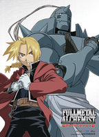 Fullmetal Alchemist Brotherhood Elric Brothers Wall Scroll