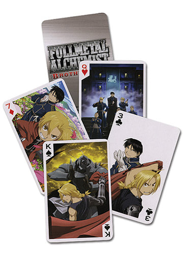 Fullmetal Alchemist Brotherhood Playing Cards Shadow Anime