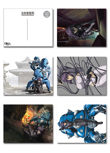 Ghost In The Shell Stand Alone Complex Postcards Set of 5
