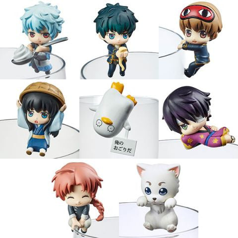 Gintama Ochatomo Series Trading Figures (1 Random Blind Box) Shadow Anime