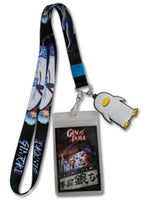 Gintama S3 Lanyard W/ Gintoki Charm & ID Badge Holder