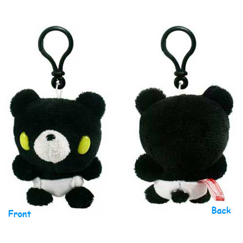 Gloomy Bear Black Plush Doll W/ Backpack Clip