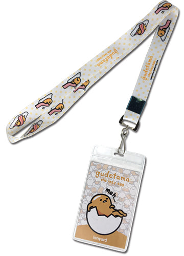 Gudetama The Lazy Egg Yolk Lanyard