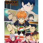 Haikyu!! Season 2 Key Art Throw Blanket