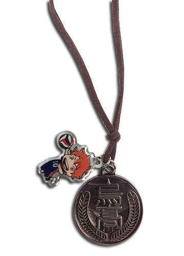 Haikyu!! Shoyo SD & Karasuno High Symbol Necklace