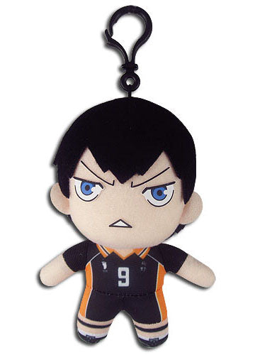 "Haikyu!! Tobio Kageyama 5"" Plush Doll W/ Backpack Clip"