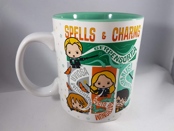 Harry Potter Characters Spells & Charms Mug