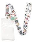 Hello Kitty In Tea Cup Lanyard W/ Charm