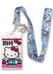 Hello Kitty Smart Nerd Lanyard W/ Charm