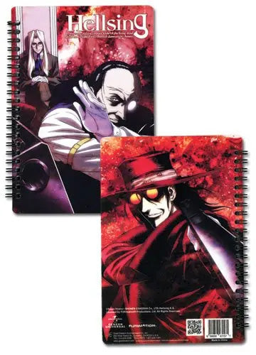 Hellsing Characters Hardcover Notebook Journal