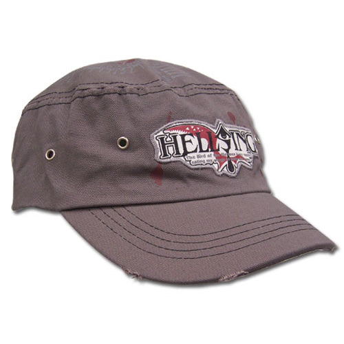 Hellsing Ultimate Logo Cadet Cap Hat Shadow Anime