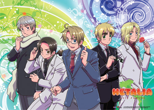 Hetalia Axis Powers Wall Scroll