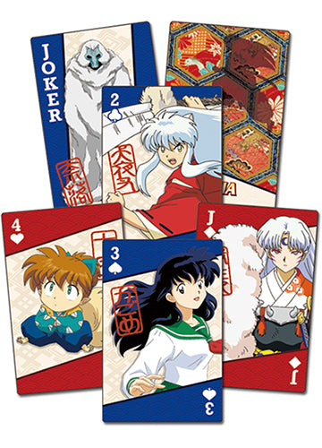 Inuyasha Group Poker Playing Cards