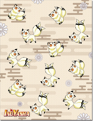 Inuyasha Kirara All Over Throw Blanket