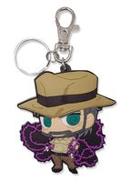 JoJo's Bizarre Adventure Joseph & Hermit Purple Key Chain Shadow Anime