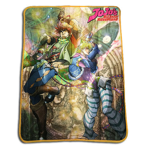 Jojo's Bizarre Adventure Group Throw Blanket