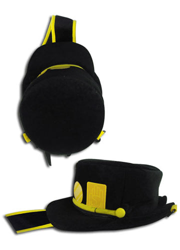 Jojo's Bizarre Adventure Jotaro Hat Plush Bag Shadow Anime