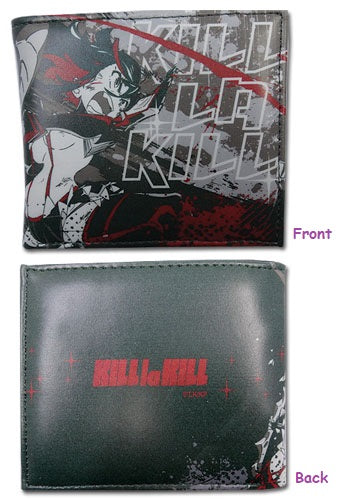 Kill La Kill Ryuko Dark Green Bifold Wallet