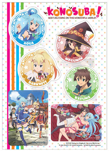 KonoSuba Group Sticker Set