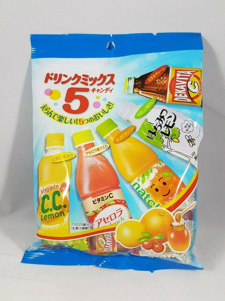 Lotte Japan 5 Flavor Vending Drink Candy Variety Pack