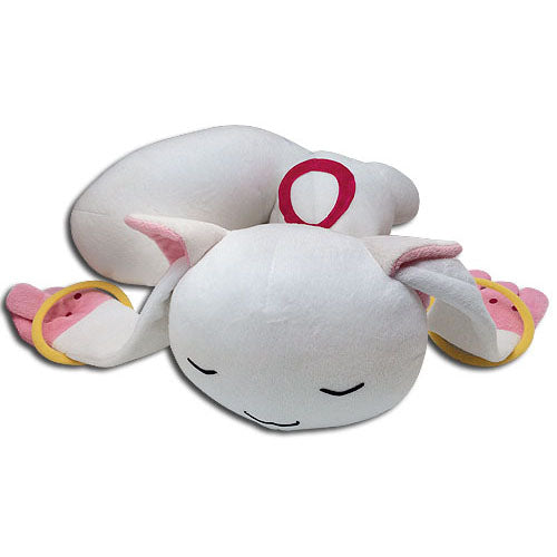 "Madoka Magica Kyubey Sleeping 18"" Plush Doll"