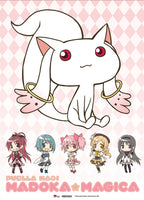 Madoka Magica Kyubey Wall Scroll