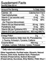 Mena Energy Potion Nutritional Facts Shadow Anime