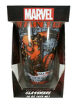 Marvel Deadpool Wanted Poster Pint Glass 16 oz