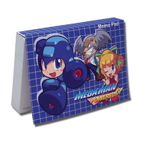 Mega Man Powered Up Memo Pad Stationary Stock