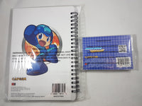 Mega Man Powered Up Notebook & Memo Pad Stationary Set Back