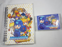 Mega Man Powered Up Notebook & Memo Pad Stationary Set