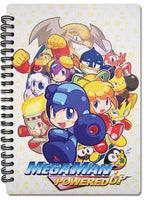 Mega Man Powered Up Notebook Stationary Stock