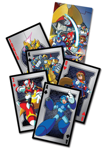 Megaman X4 Playing Cards