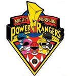 "Mighty Morphin Power Rangers Group 6"" Logo Car Fridge Magnet"