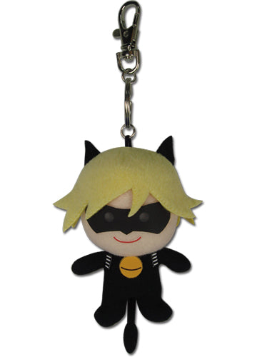 Miraculous Cat Noir Plush Keychain Shadow Anime