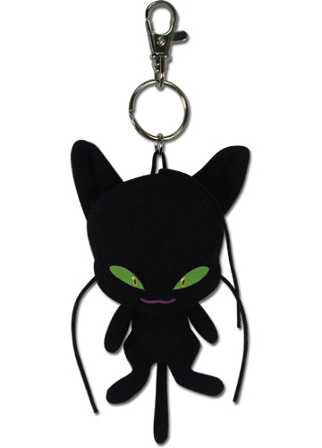 Miraculous Plagg Plush Keychain Shadow Anime