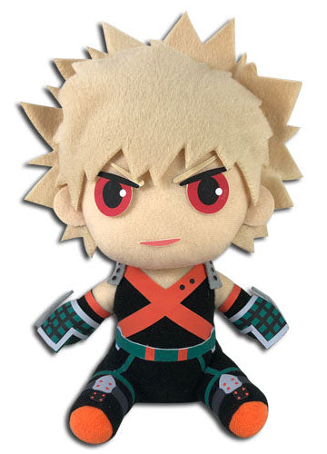"My Hero Academia Bakugo 7"" Sitting Pose Plush Doll"