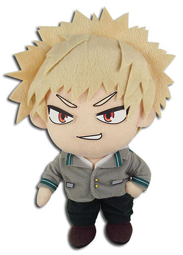 "My Hero Academia Bakugo School Uniform 8"" Plush Doll"
