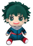 "My Hero Academia Deku Hero Costume 2nd Ver. 8"" Sitting Plush Doll"